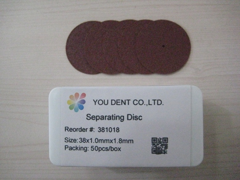 Separating Disc,38x1.0mmx1.8mm,You Dent