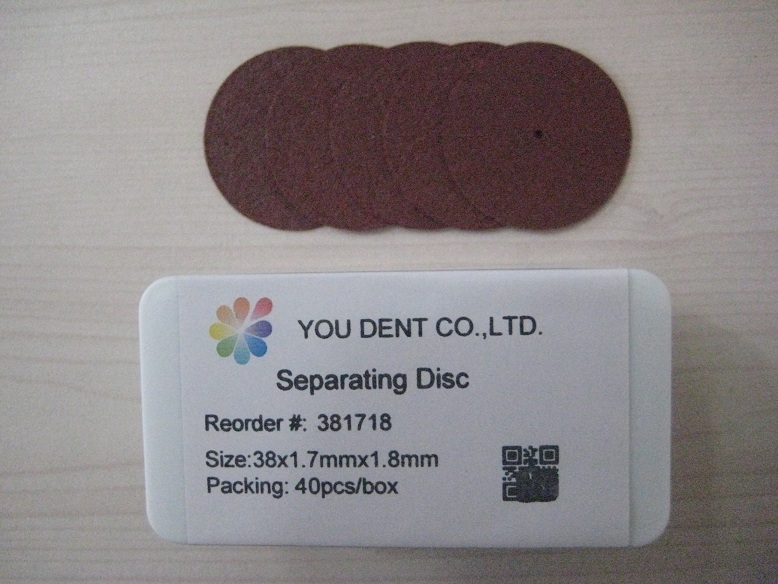 Separating Disc,38x1.7mmx1.8mm,You Dent
