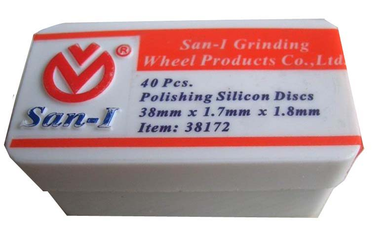 San-I Polishing Silicon Discs,38mmx1.7mmx1.8mm