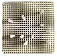 Hoenycomb Firing Tray,Square,Ceramic Pins,55mm*55mm