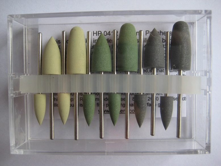 Silicone Polishers for denture acrylic,prosthetic acrylic