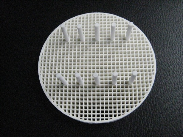 Ceramic Honeycomb Firing Tray, 20 pcs Ceramic Pins, Round, 80mm