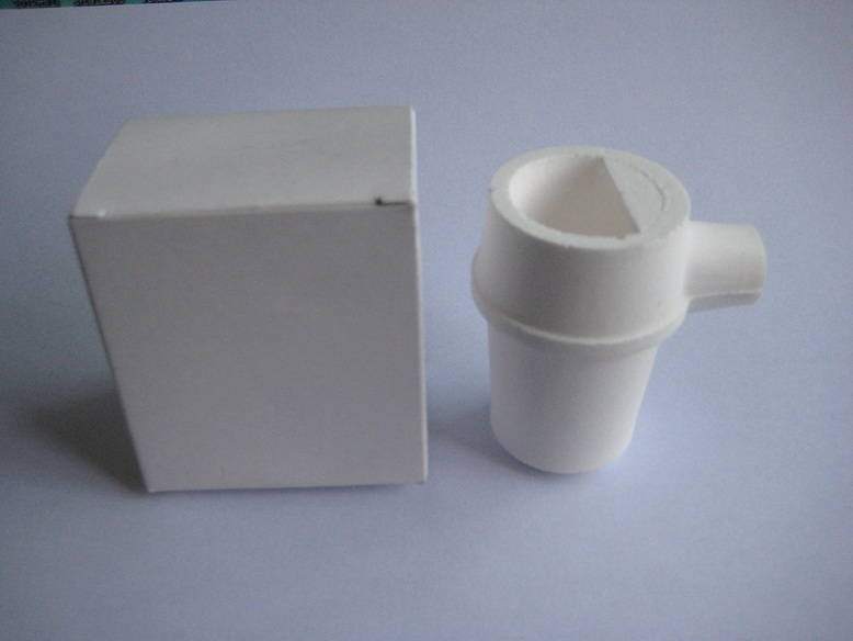 Crucible, vertical type,with cover,1pc/box