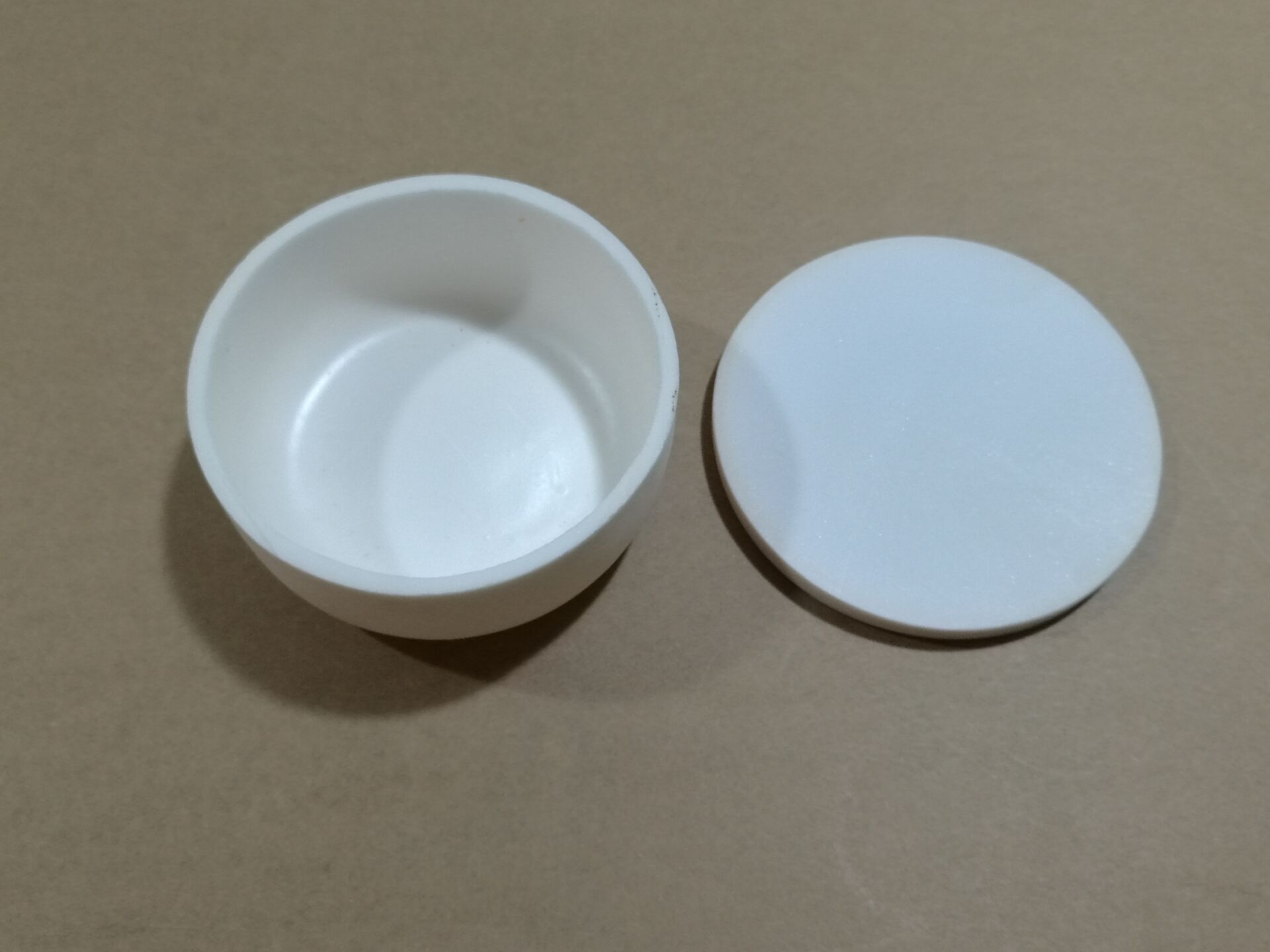Sinter Bowl,90mm x35mm,With Lid,Flat side