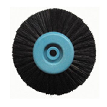 Polishing brush,Plastc core,4-ply,long and straight hair