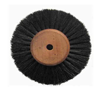 Polishing brush,Wooden core,4-ply,long,straight hair