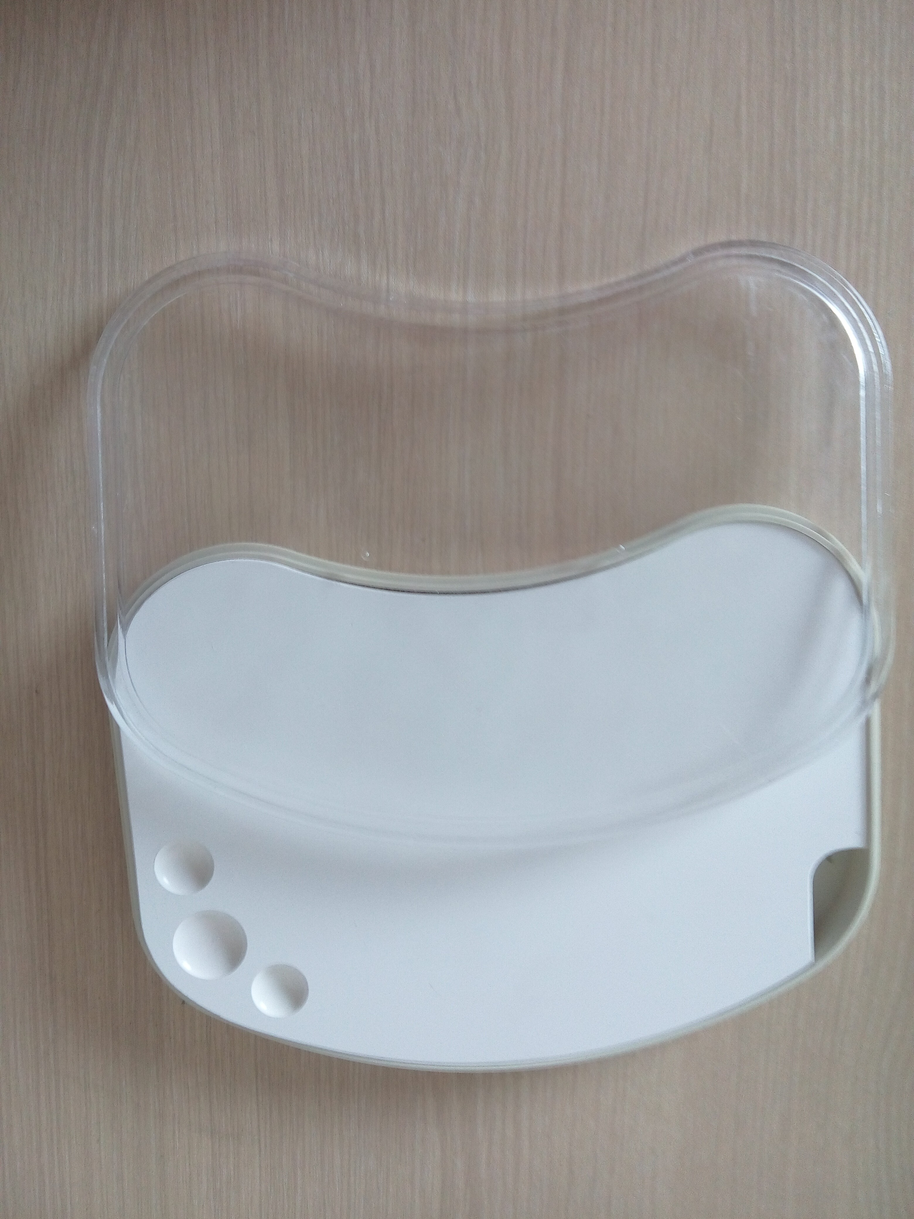 Porcelain Watering Plate, Large, with Cover