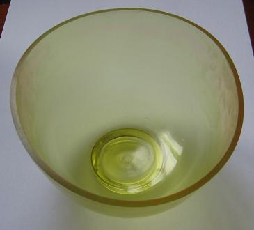 Rubber Mixing Bowl,Transparent,Small
