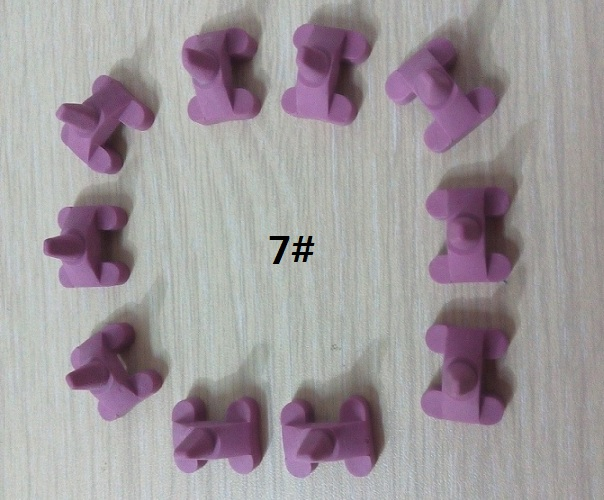 Pink Pegs, 7#, 10 pcs/bag