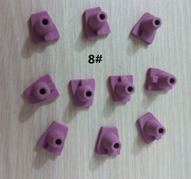 Pink Pegs, 8#, 10 pcs/bag