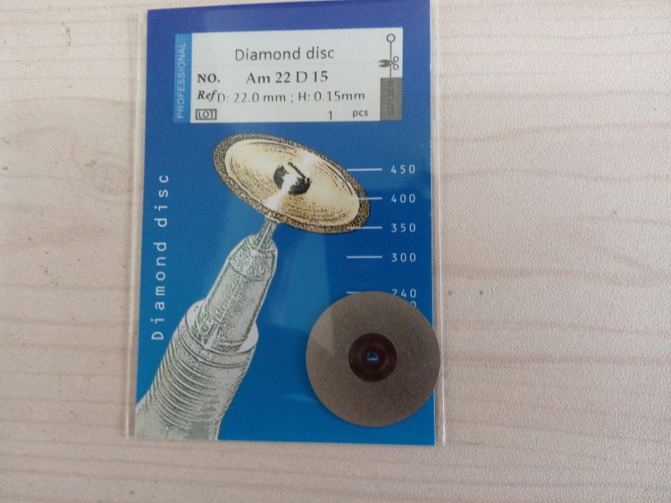 Diamond Disc,22mmx0.15mm Am22D15