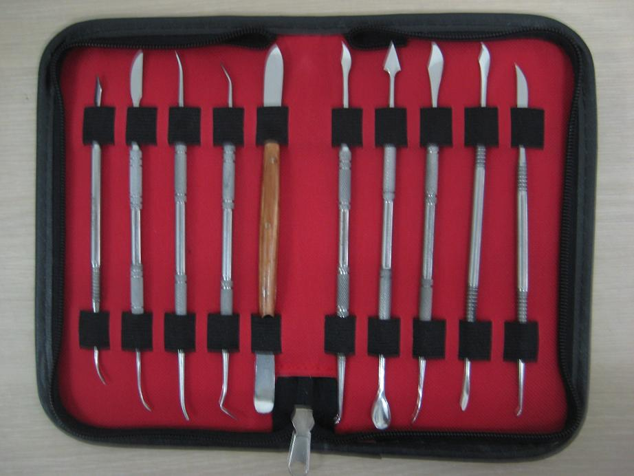 Dental Lab Kit,10 kinds popular Gravers